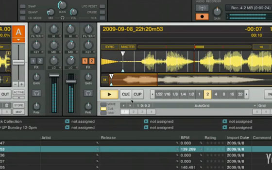 audio dops in traktor