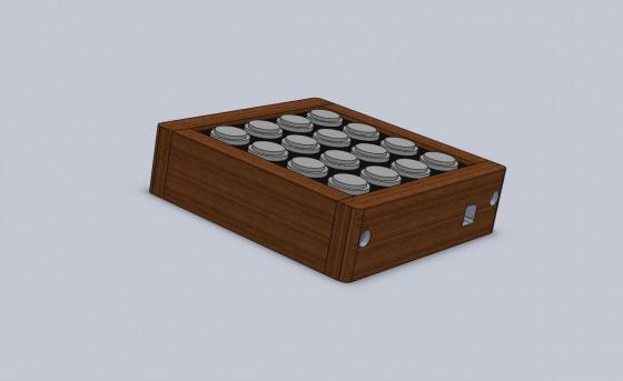 midi fighter modular wood box blkwht3