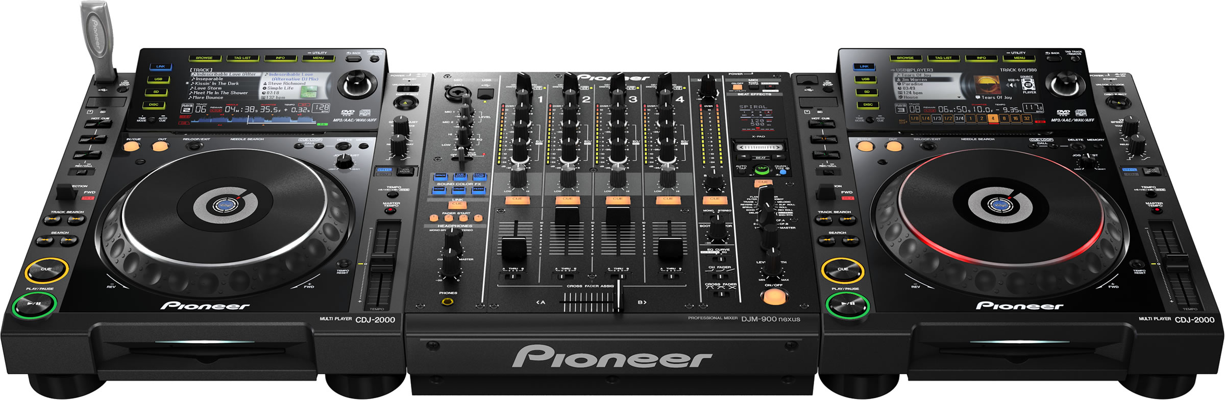 pioneer nexus the new djm 900 dj techtools. Black Bedroom Furniture Sets. Home Design Ideas