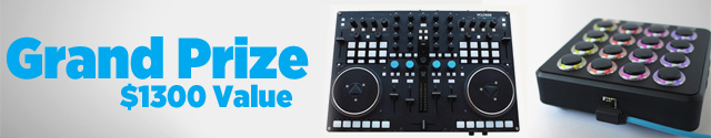 Grand Prize: VCI-400 Special Edition ($1099 Value) and Midi Fighter 3D