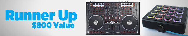 Runner Up: Reloop Terminal Mix 4 Controller and Midi Fighter 3D