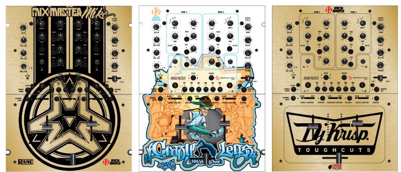 Custom Mixer Designs by 12-Inch Skinz