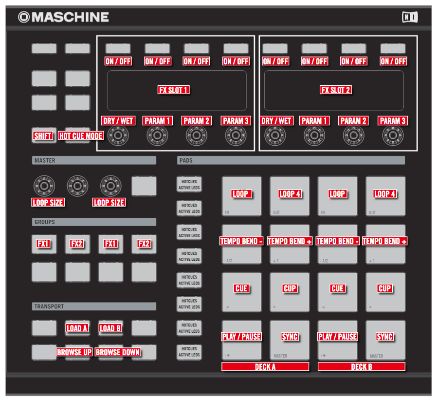 Maschine's Current Traktor Mapping - Update Coming Soon?