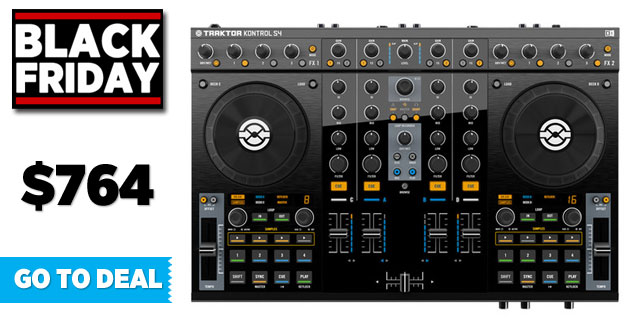 traktor-kontrol-s4-black-friday-deal