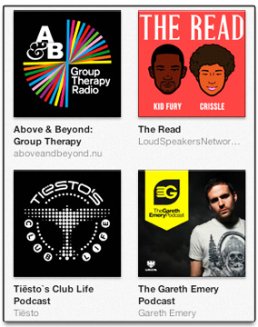 how to download podcasts onto itunes