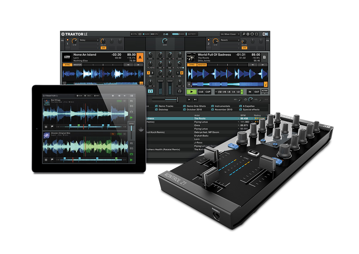 Traktor Kontrol Z1 - With Software