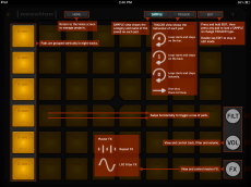 The Launchpad App's annotated view.
