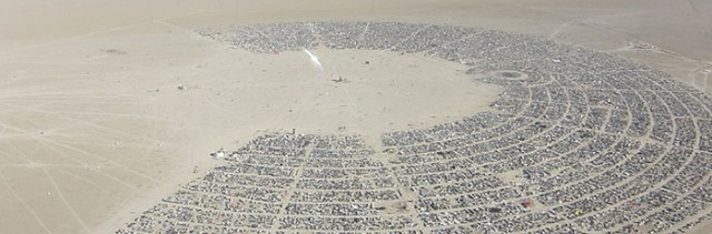 Black Rock City, NV / Wikimedia Commons