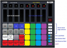 Stewe's Livid Base Remix Decks mapping.