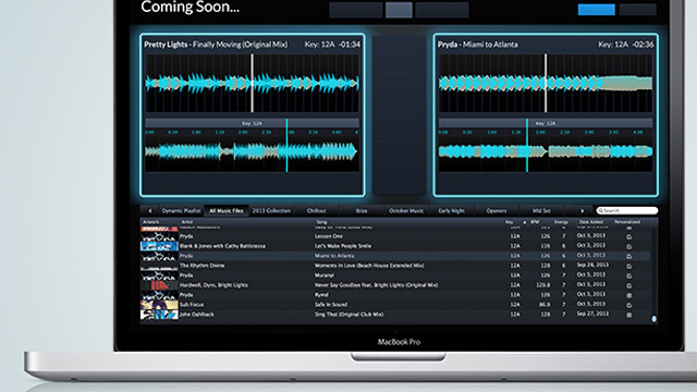2. Flow DJ software for Harmonic Mixing