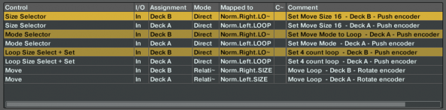 Just a few commands needed to map a loop move macro.