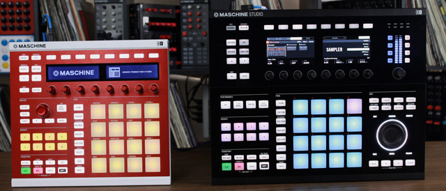 Maschine MKII vs Maschine Studio