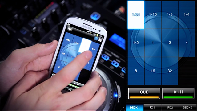 XDJ-Aero loops controlled wirelessly from Rekordbox on Android