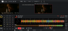 As with Serato Video, Cross 3 can couple music files with video files that you always want to open together.