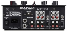 DJ-Tech DIF-1M rear panel.