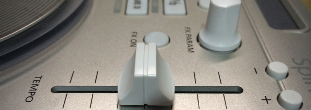Tempo faders on many MIDI controllers are pretty limited.
