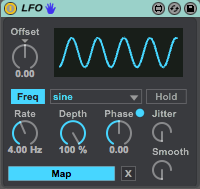 The LFO device in M4L