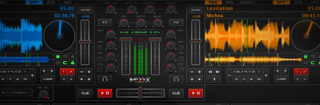 Perpetually free, Mixxx is the cheapest DJ software option.