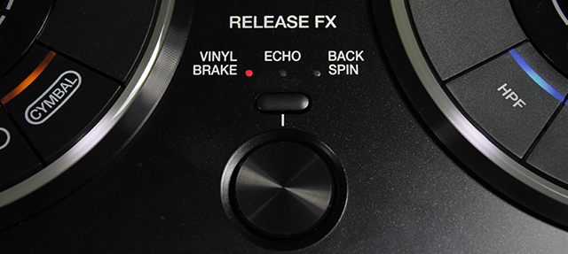Release with a button in place of the RMX-1000's lever