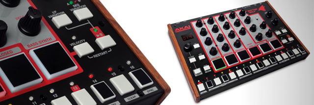Akai's drum machine - all analog?