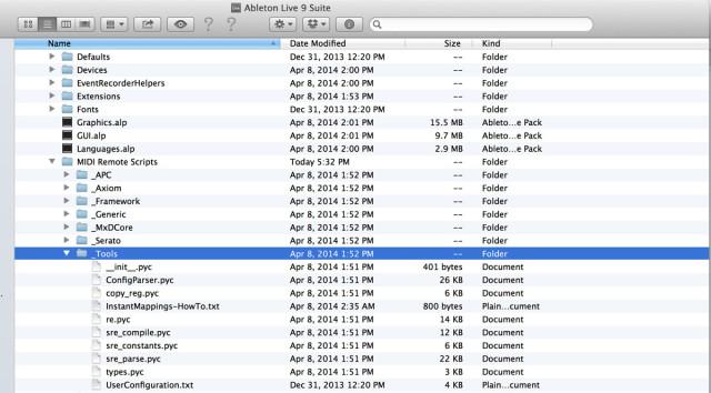 Albeton-Scripts-Folder