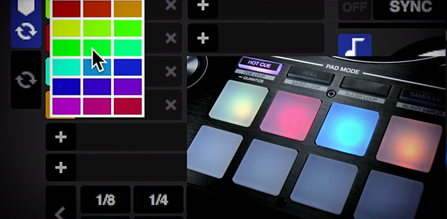 Serato's cue points and the DDJ-SZ