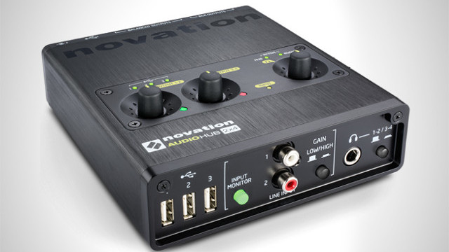 Novation announced the Audiohub 2x4 which is a dedicated soundcard and USB hub.
