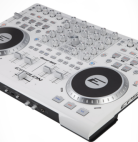 Epsilon offers their QUAD-MIX in white; a four channel midi device.