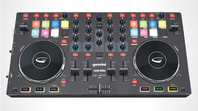 Gemini and Serato have created a new relationship for the Slate 4 controller.