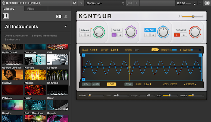 Komplete Kontrol software