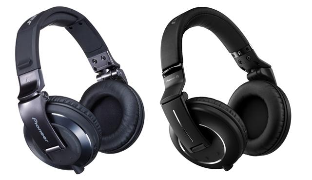 The old HDJ-2000-Ks (left) vs the new HDJ-2000MK2s (right)