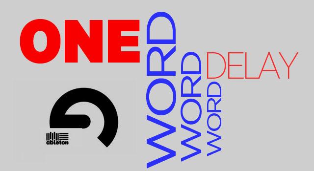 oneword-delay