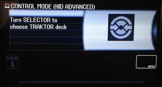 CDJ 2000 Deck select