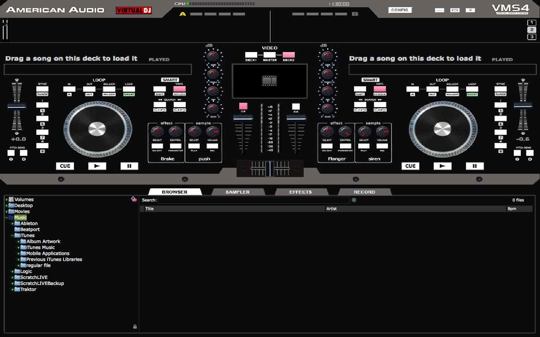 virtual dj seral
