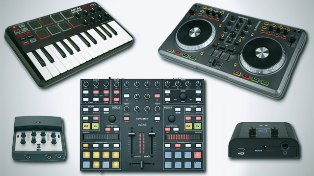 dj controllers and soundcards for beginners dj techtools. Black Bedroom Furniture Sets. Home Design Ideas