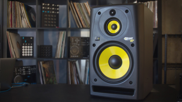review krk rokit powered 10 3 g2 monitors dj techtools. Black Bedroom Furniture Sets. Home Design Ideas