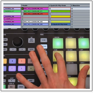 touchosc templates ableton - video using maschine s ableton live template dj techtools