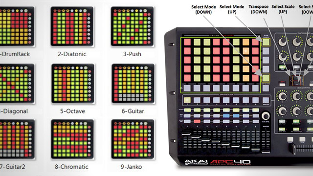 j74 iso controllers musical scale templates on launchpads apc40s dj techtools. Black Bedroom Furniture Sets. Home Design Ideas