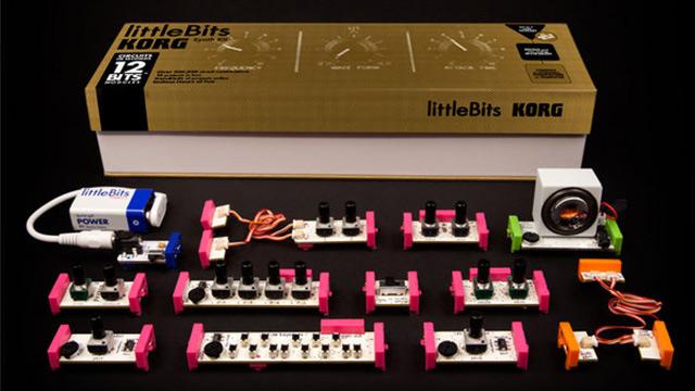 little bits korg to release diy synth kit dj techtools. Black Bedroom Furniture Sets. Home Design Ideas