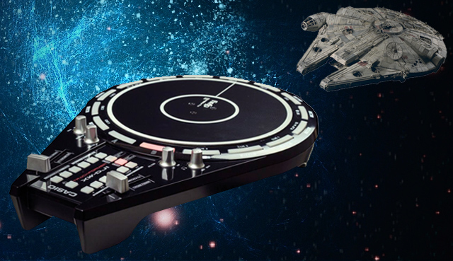 casio xw dj1 xw pd1 millennium falcon dj controllers dj techtools. Black Bedroom Furniture Sets. Home Design Ideas